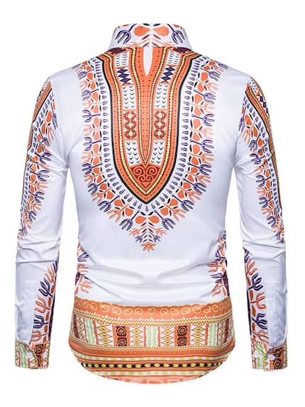 Trending African wear designs for mens shirts