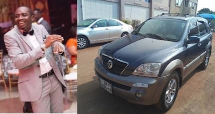 Top Ghanaian prophet gives controversial Counselor Lutterodt a new Kia car
