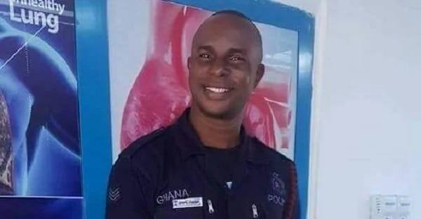 Police officer detained after death of girlfriend in his room