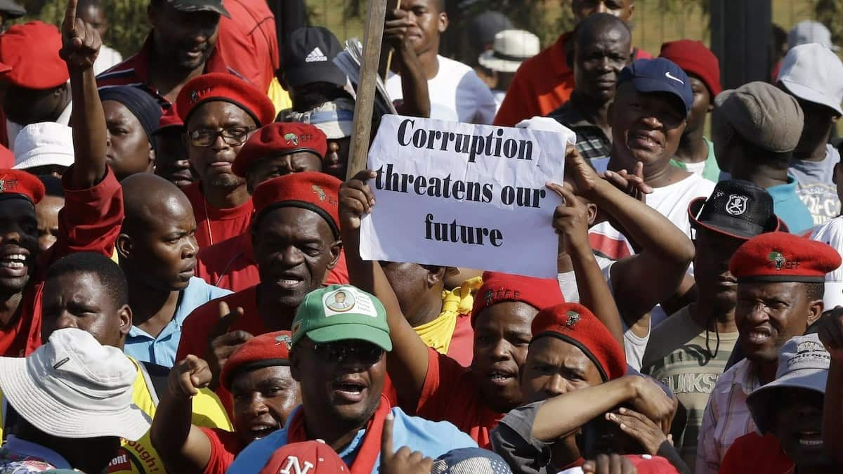 types of corruption, types of bribery and corruption, types and causes of corruption