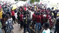 Confusion rocks GIMPA as students sit for final exams (Video)