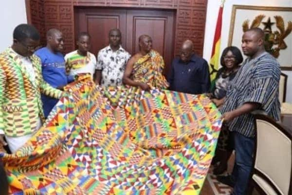 New Kente design named after Akufo-Addo