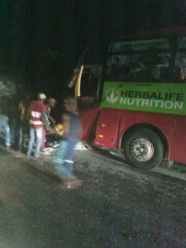 Kotoko team bus involved in ghastly accident
