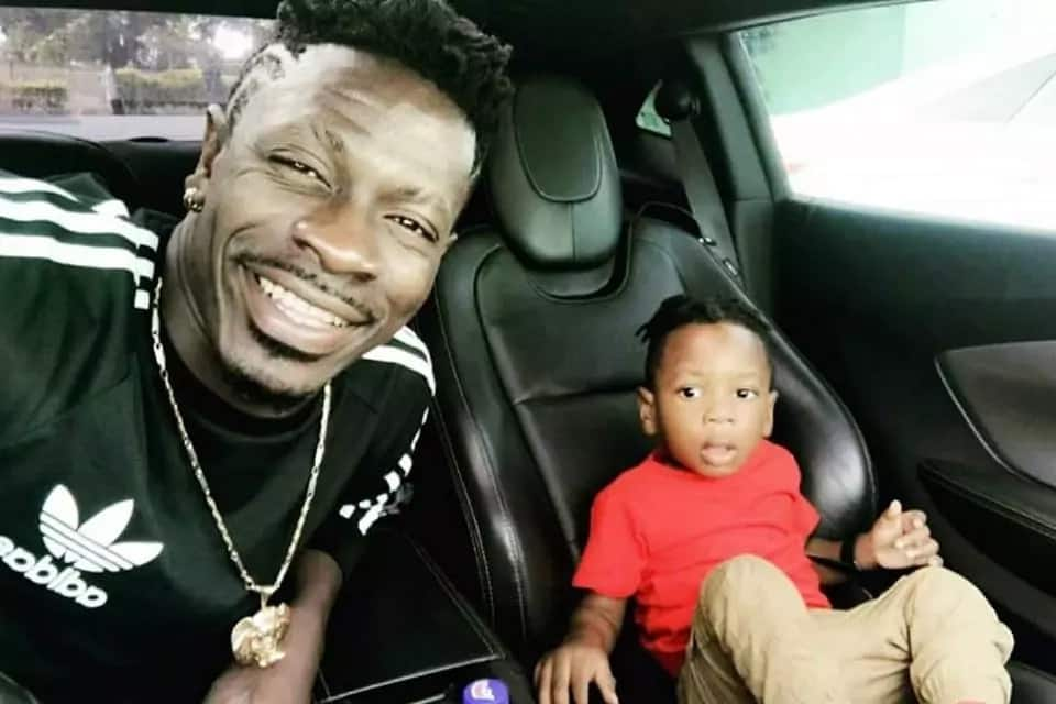 See cute photos of Shatta Wale's son all grown now