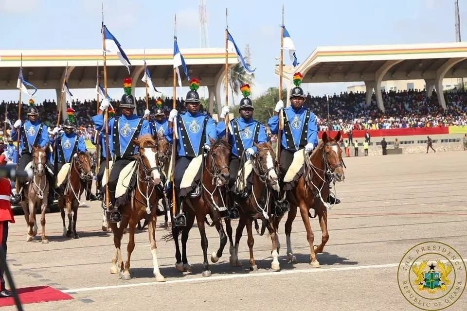 The 10 wild, clear photos we captured from Ghana's 61st Independence parade