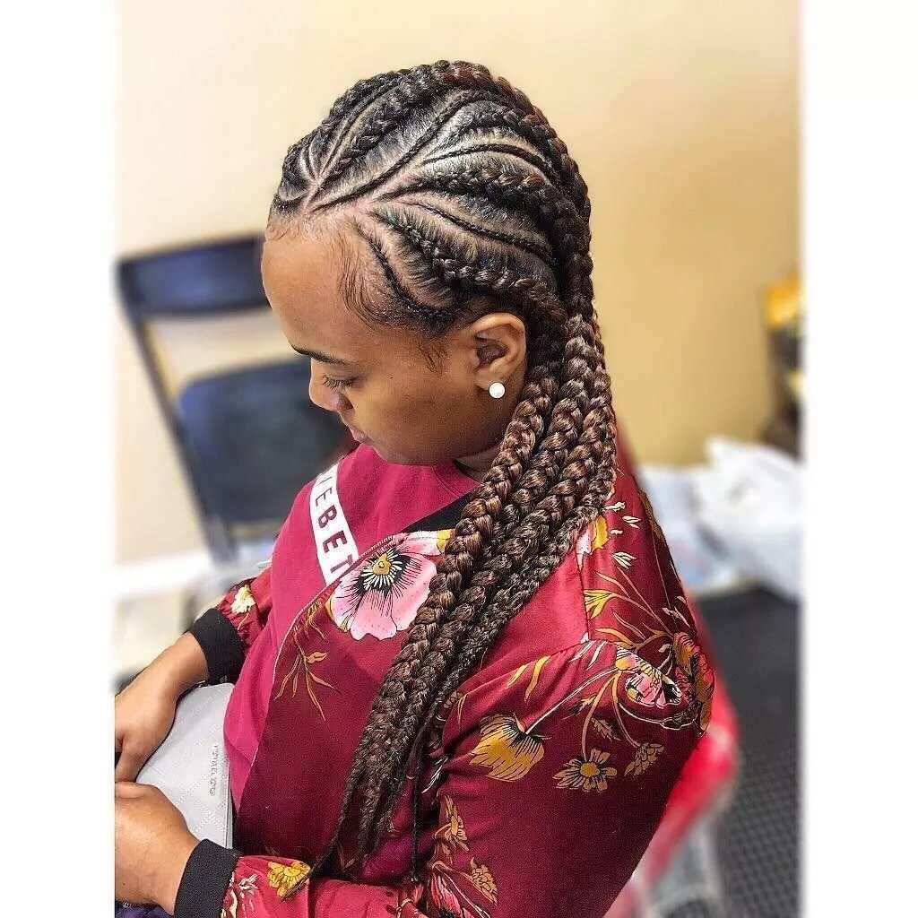 trendy nigerian cornrow hairstyles for 2018 ▷ yen.gh
