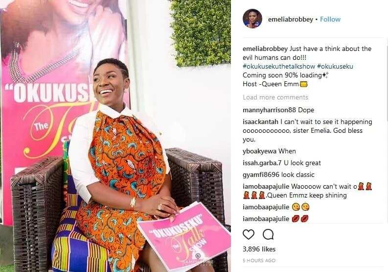 Emelia Brobbey 's post on Instagram