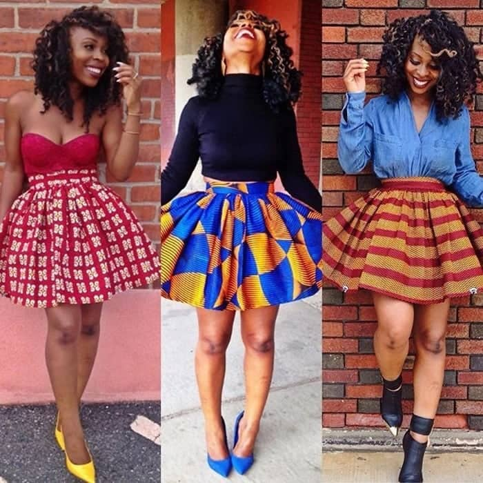 Trendy African print styles 2018