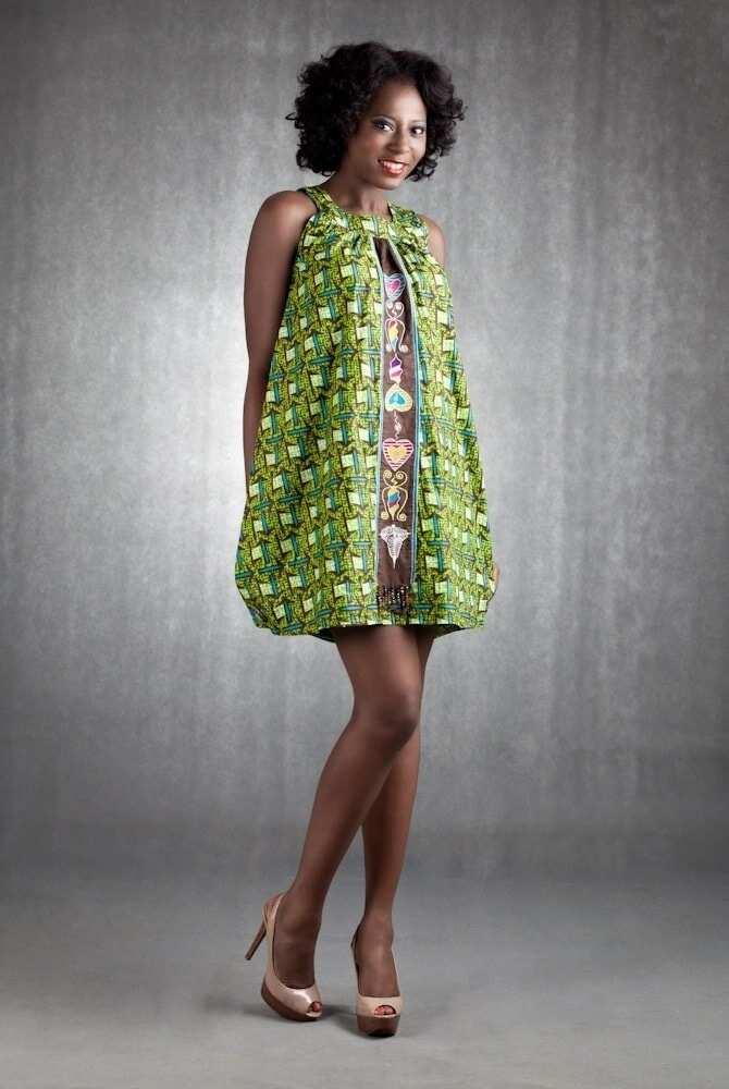 Modern African print dresses