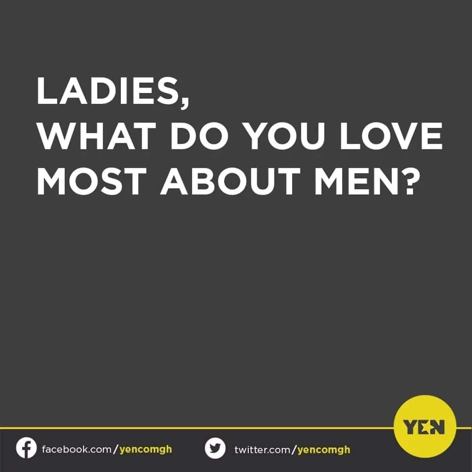 Ghanaian ladies open up on what they love most about their men