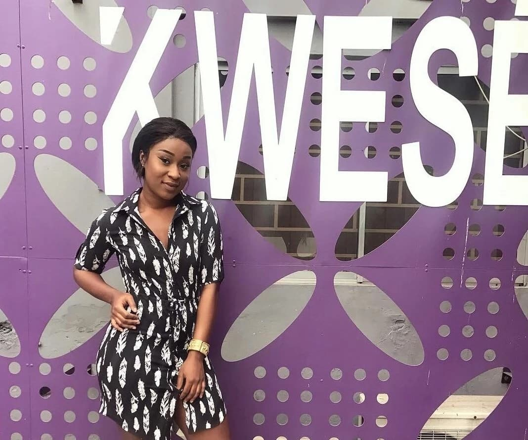 Efia Odo has joined Kwese TV as a sports presenter