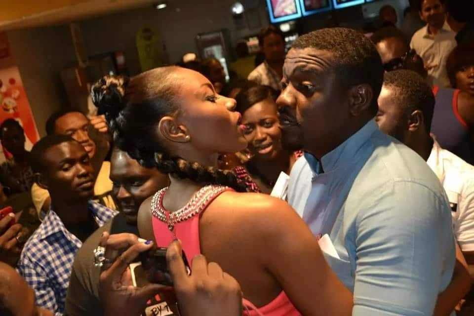 YVONNE nELSON and John Dumelo are best friend goals