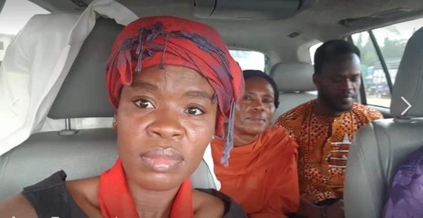 Ohemaa Woyeje's father is dead