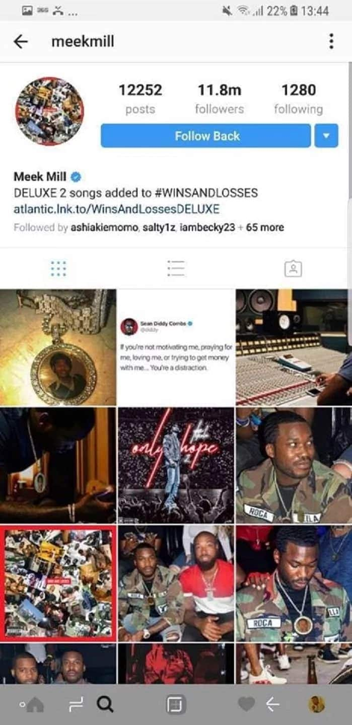 Shatta Wale connects with American rapper Meek Mill and there are varied reactions (Photo)