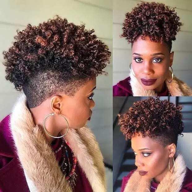 How To Style Short Natural Hair Photos Videos Yen Com Gh