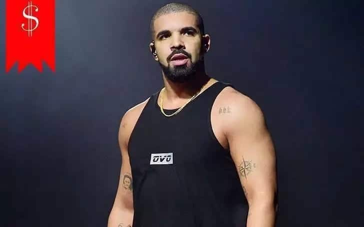 Net worth of Drake in 2017
