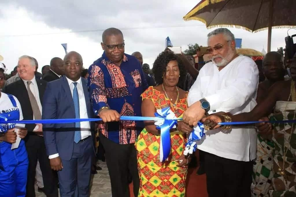 Bola Ray, JJ Rawlings, others attend opening ceremony of new Rigworld training center