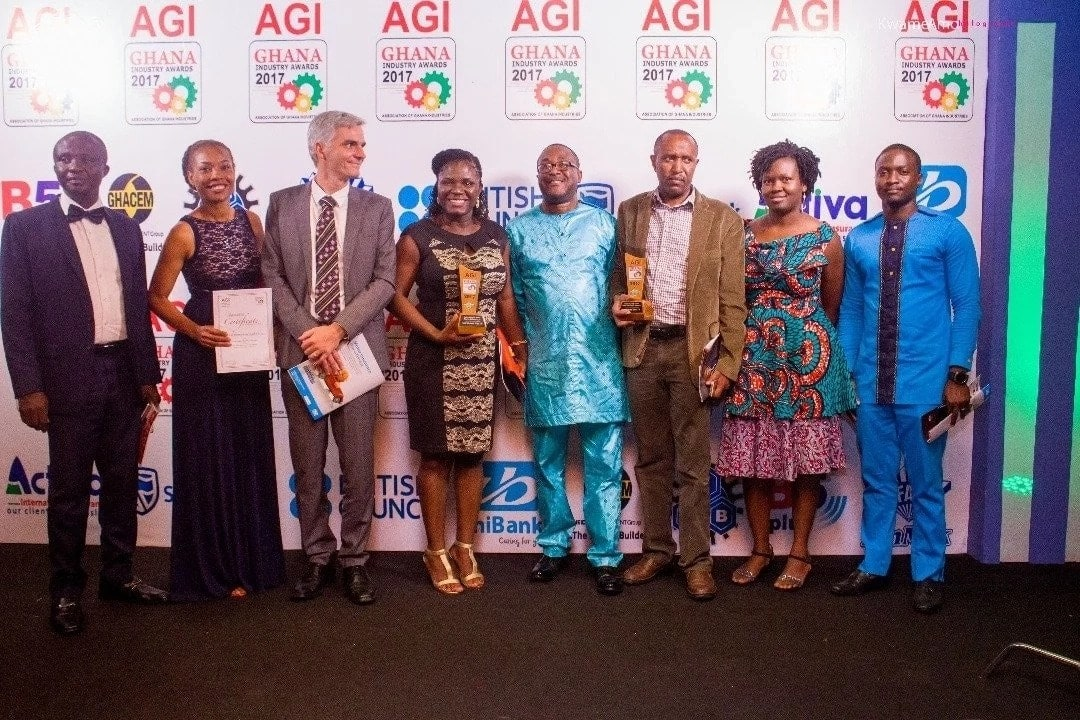 Total Ghana sweeps two awards at AGI Ghana Industry and Quality Awards
