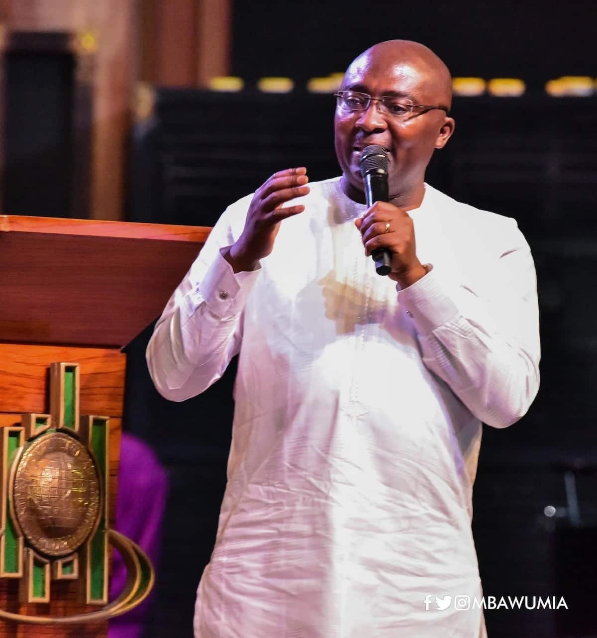 Vice President Dr. Bawumia speaks on how he believes God saved him