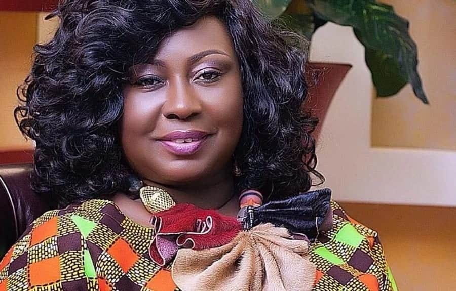 "Gifty Anti celebrates ""Royal Baby's"" eighth week on social media"