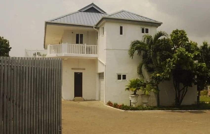 The official residence located at Cantonments in Acca