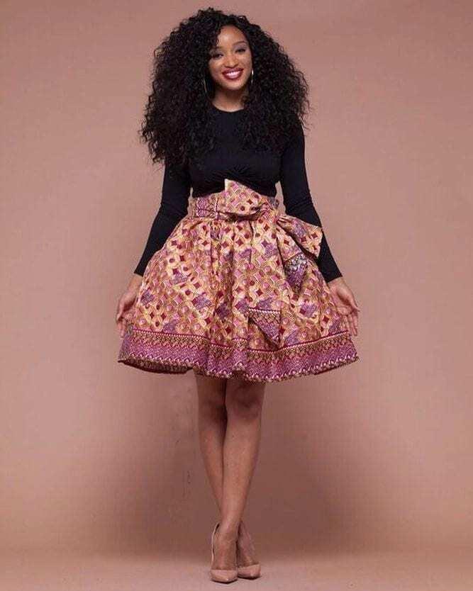 african print dress styles