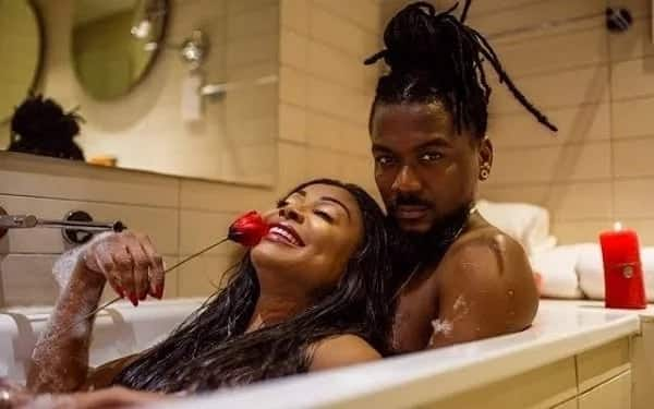 Stephanie Benson says her husband loves her sexy video with Samini