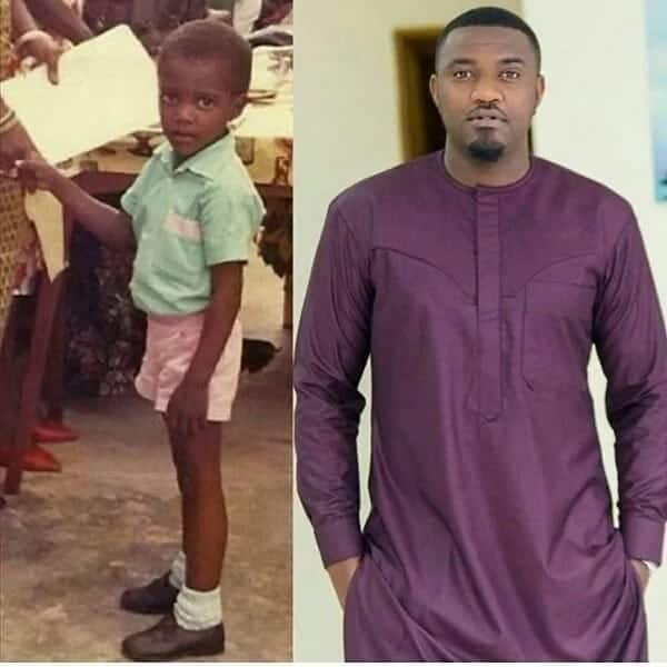 This throwback photo proves John Dumelo was the cutest child ever