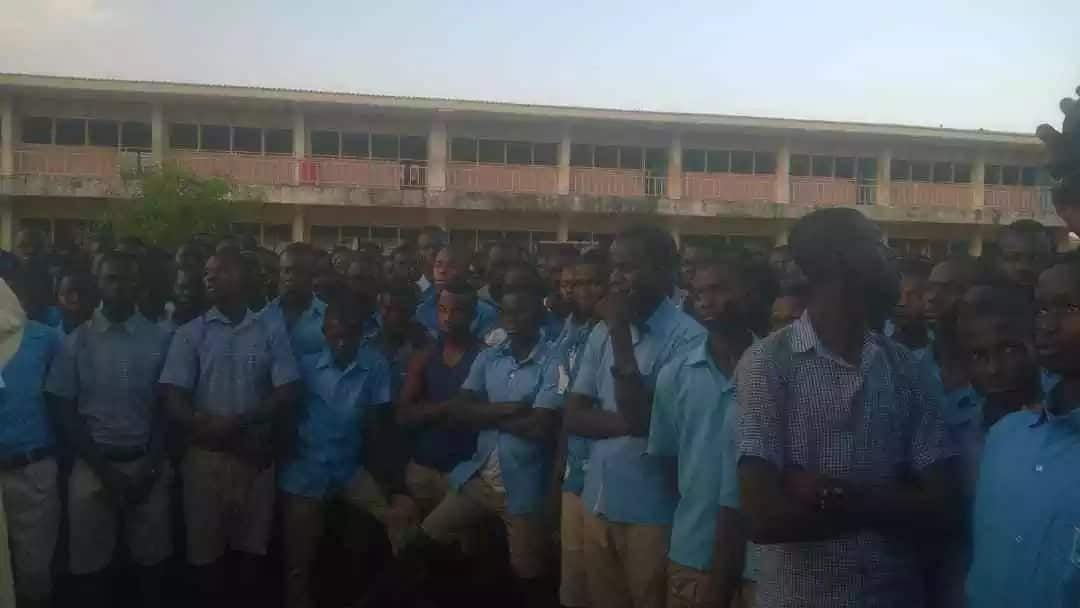 Bolga SHS students go on rampage after this colleague dies