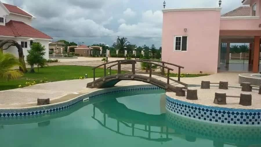 Kennedy Agyapong's residence at Assin Donpim in the Central region
