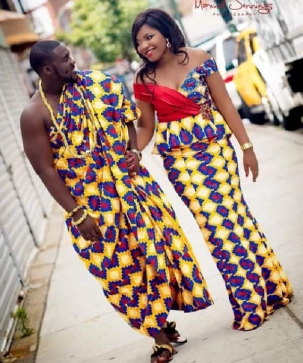 8 of the best kente gowns spotted on the internet