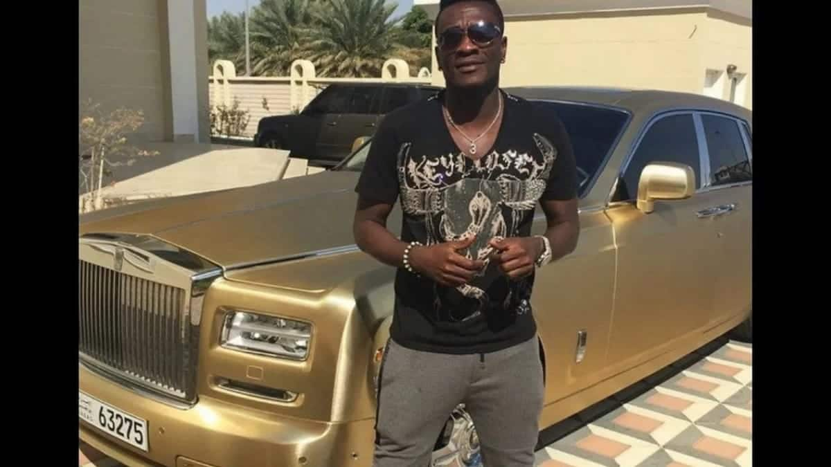 Read how Asamoah Gyan makes his money off the pitch