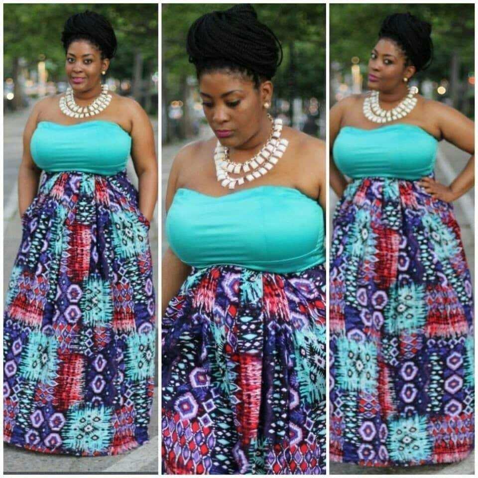 African print maxi dress styles