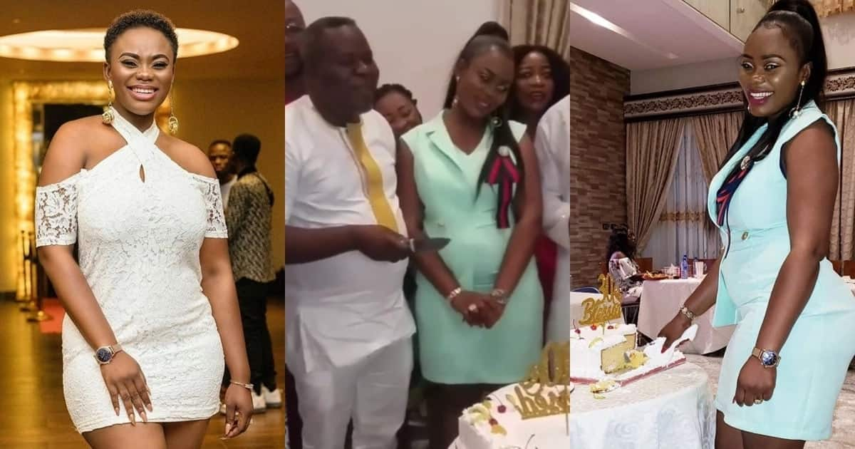 4 lovely photos of Akua GMB and husband together proving love has nothing to do with age