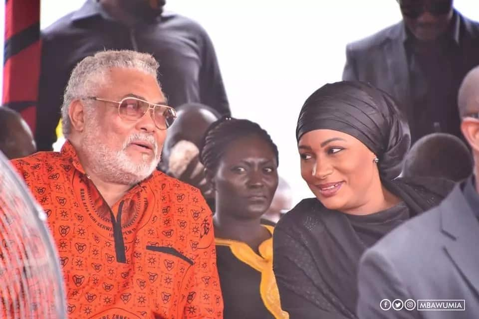 Image result for samira bawumia and rawlings