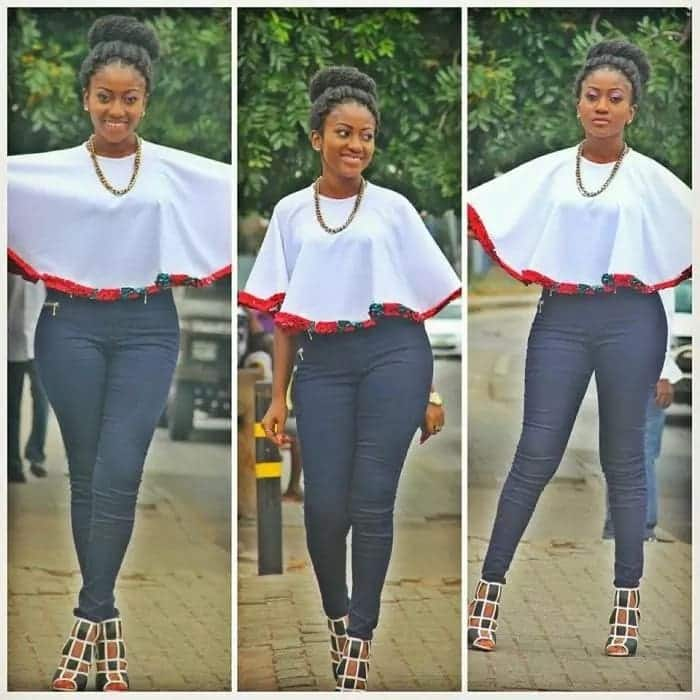 african tops for jeans