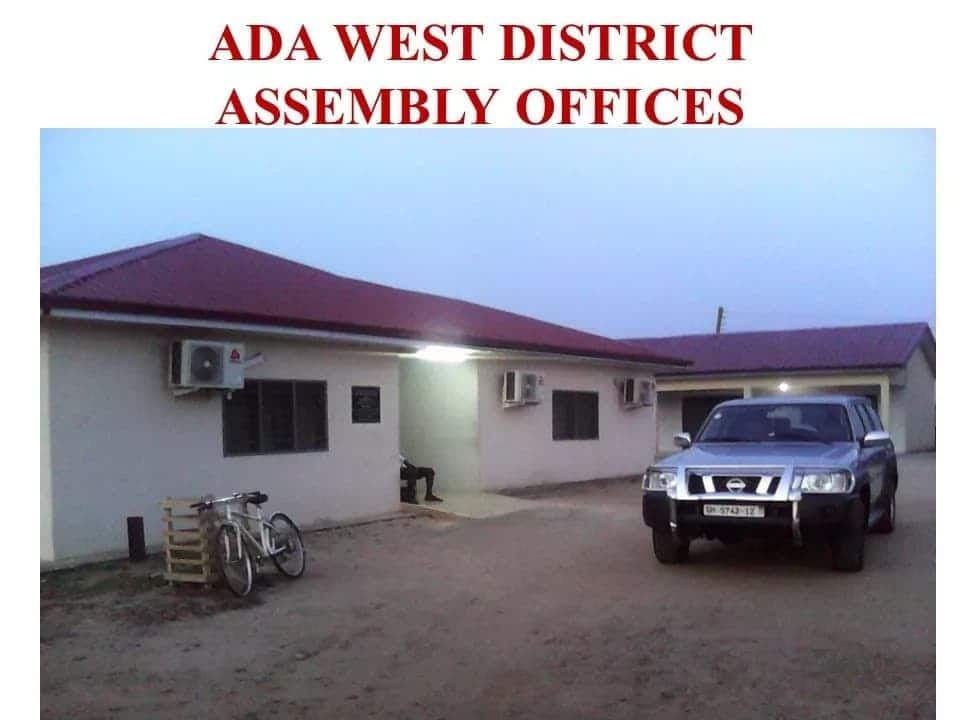 districts in greater accra, districts in greater accra region