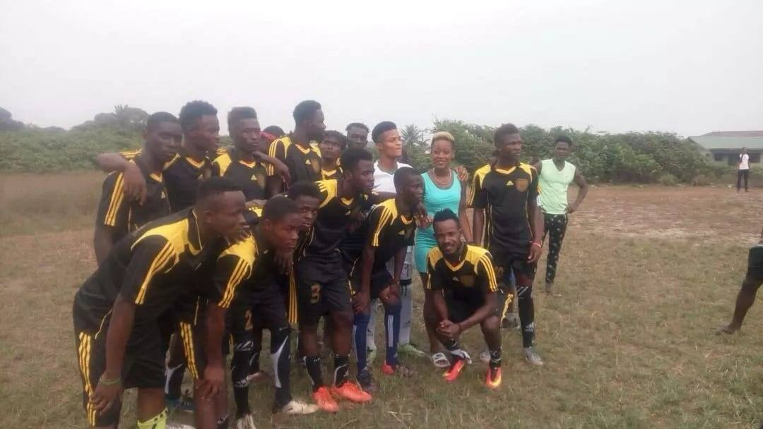 The SM Footbal Club unveiled in Liberia