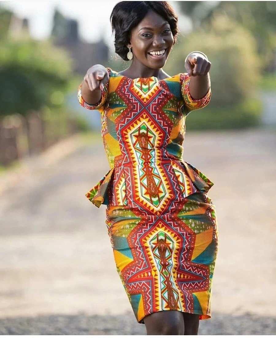 Trendy Modern African Dresses YEN.COM.GH