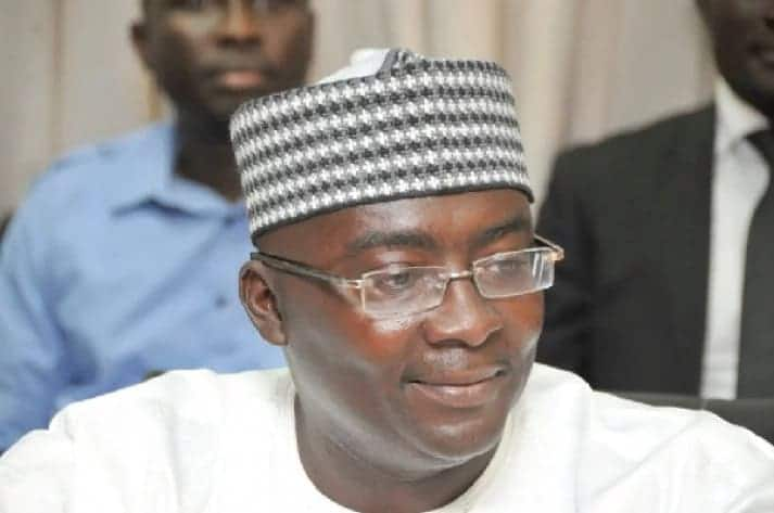 Dr Mahamudu Bawumia is currently in London on medical leave.