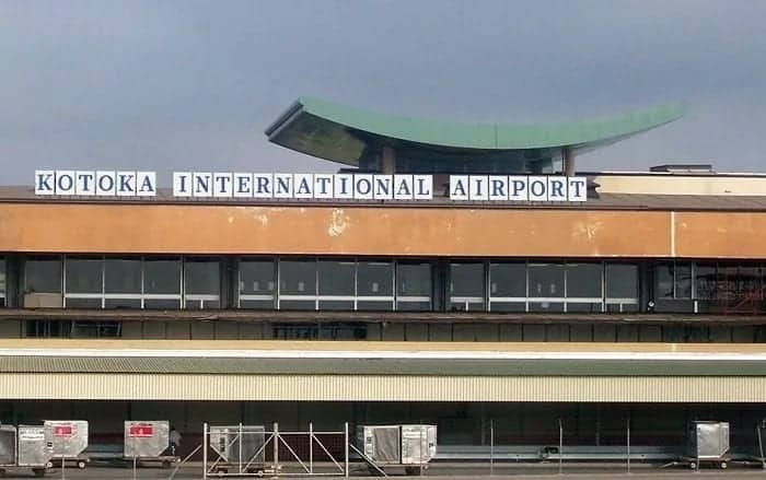 international airports in Ghana