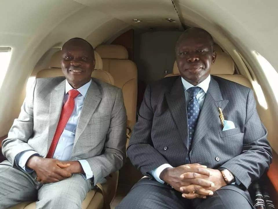 Asanteman shows love to Asantehene as he comes back home from Brazil