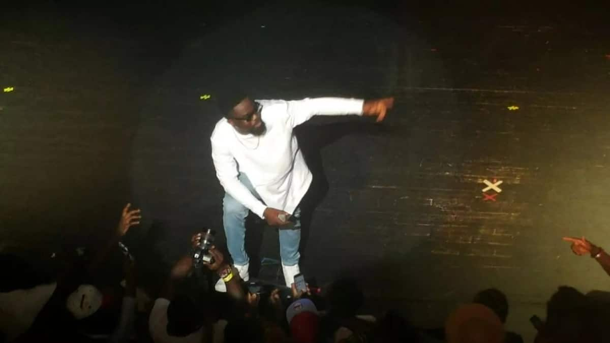 Sarkodie's performance in the US