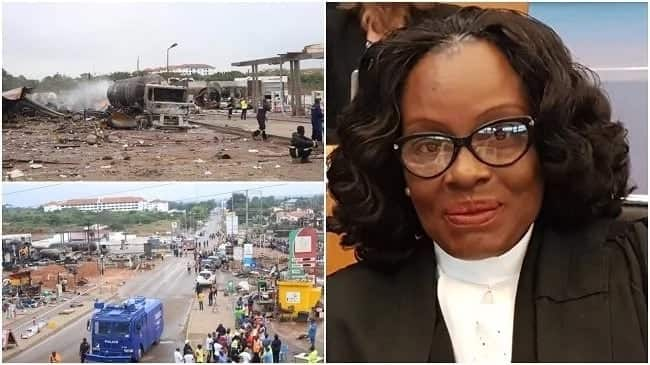 Ghana's Attorney General Gloria Akufo narrates how her family escaped the gas explosion