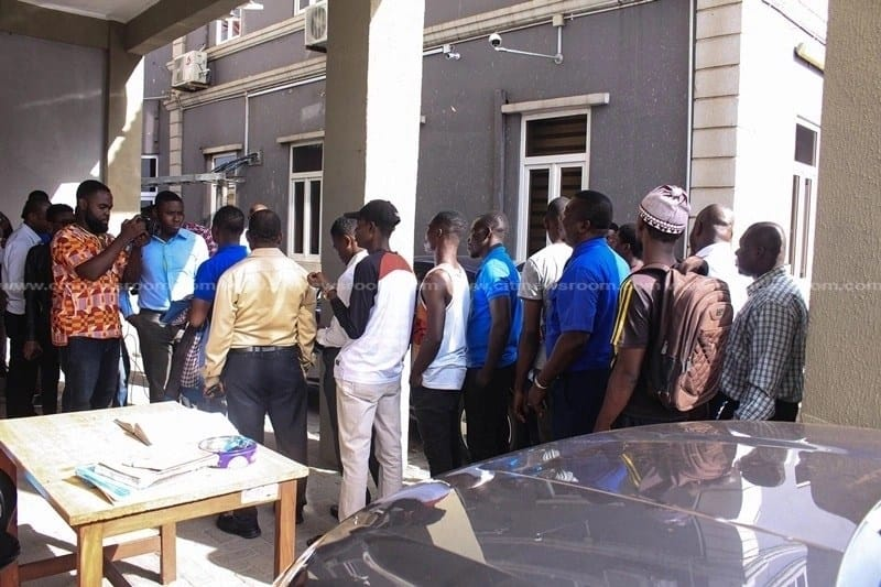 Long queue for Anas' video tickets. Photo credit: Citi Newsroom