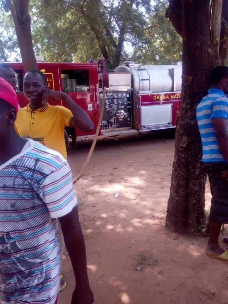 Drugs worth thousands of cedis lost to fire at Walewale hospital