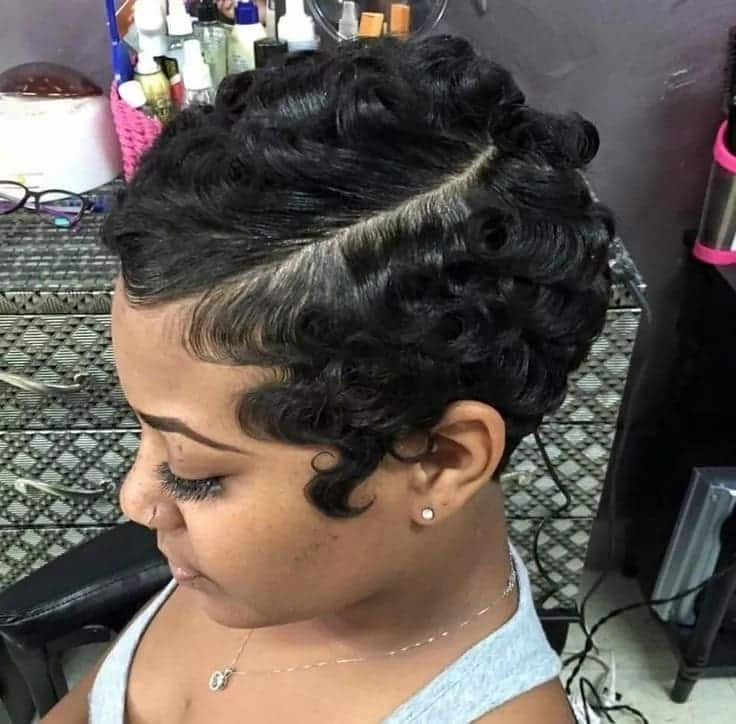 How to style finger waves hairstyles