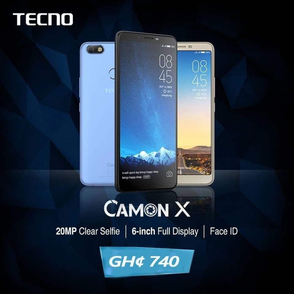 10 Reasons why the Techno Camon X is the best selfie Phone for 2018