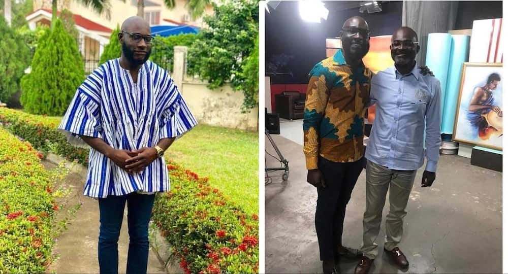 Like father like son - Ken Agyapong's son buys all coconut of seller so he can go home