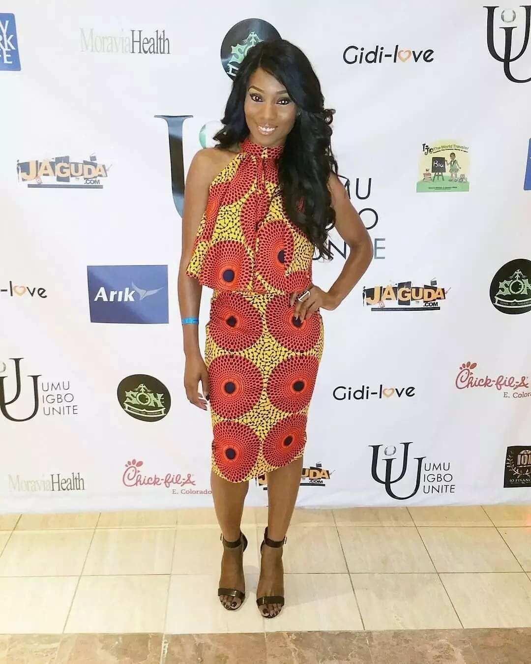 efc65d97c5 African polished cotton dresses for ladies ▷ YEN.COM.GH